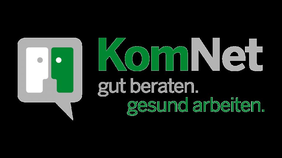 Logo Komnet - gut beraten gesund arbeiten