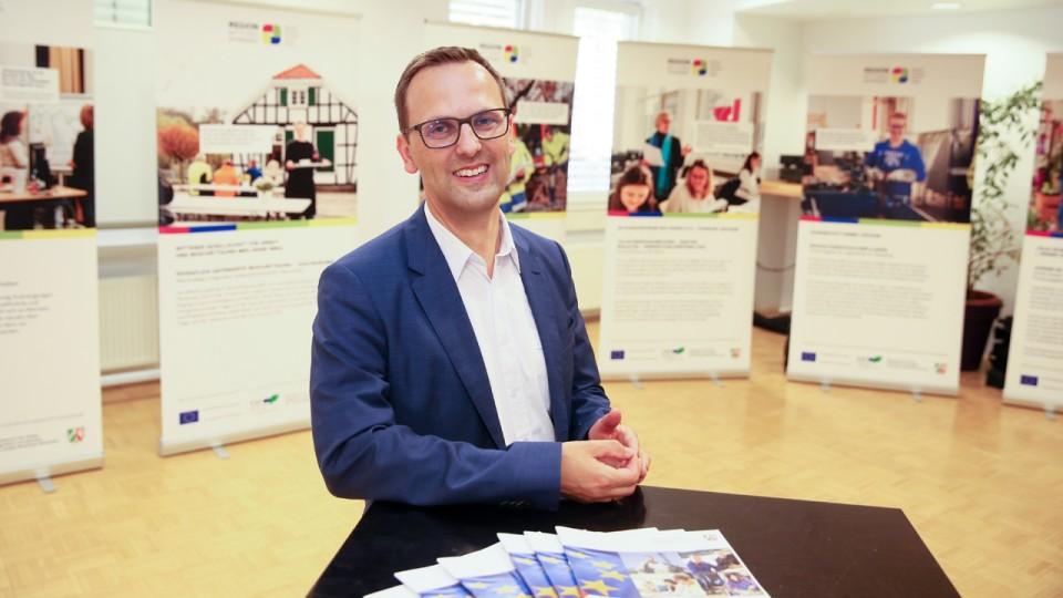 Foto: Keven Forbrig, Leiter der Regionalagentur Mittleres Ruhrgebiet