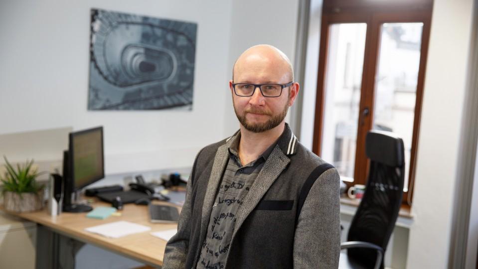"""Foto: Leiter des Modellprojektes """"Chance Zukunft"""" beim Berufsbildungswerk Volmarstein"""