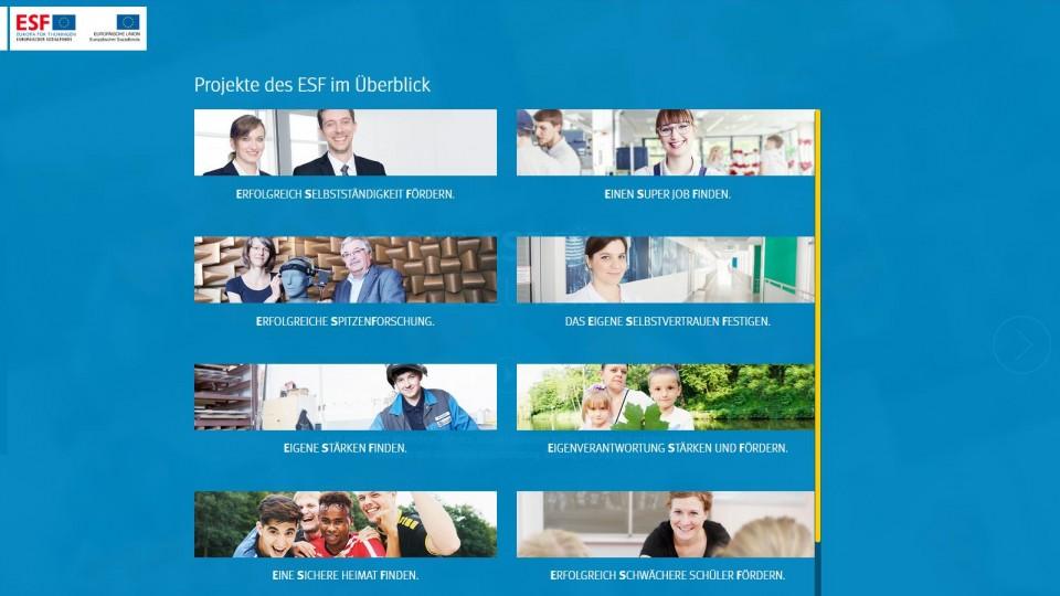Startseite Kampagnenwebsite blauer Hintergrund Fotos von Menschen
