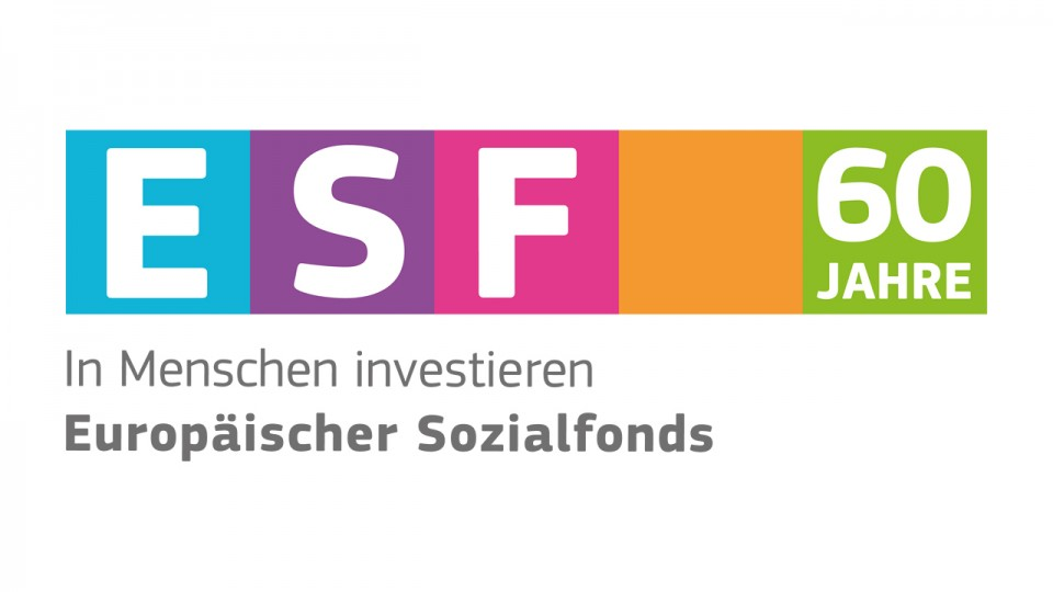 Logo: 60 Jahre ESF