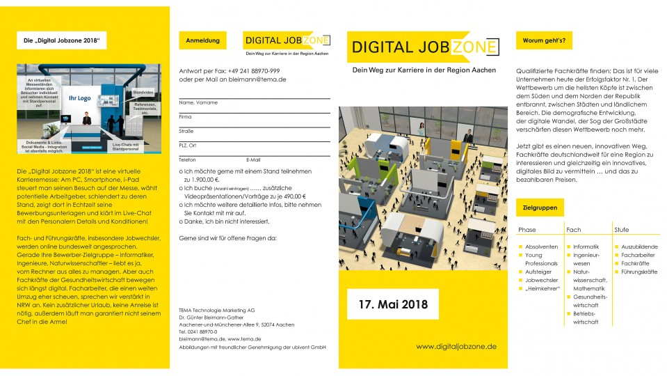 Flyer: Digital Jobzone