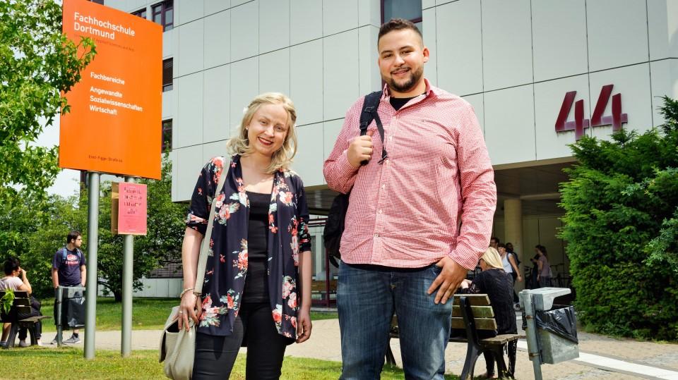 Foto: Zwei Studierende