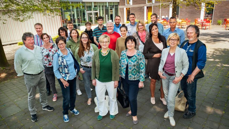 Foto: Austauschtreffen der Akteure aus den Regionalagenturen, Kammern und Trägern sowie dem Arbeitsministerium NRW