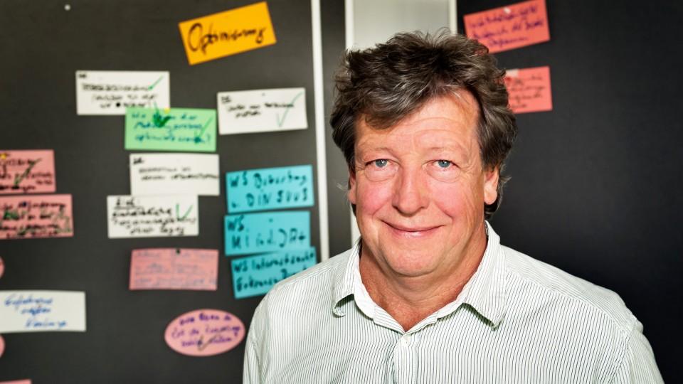 Foto: G.I.B.-Mitarbeiter Jürgen Kempken