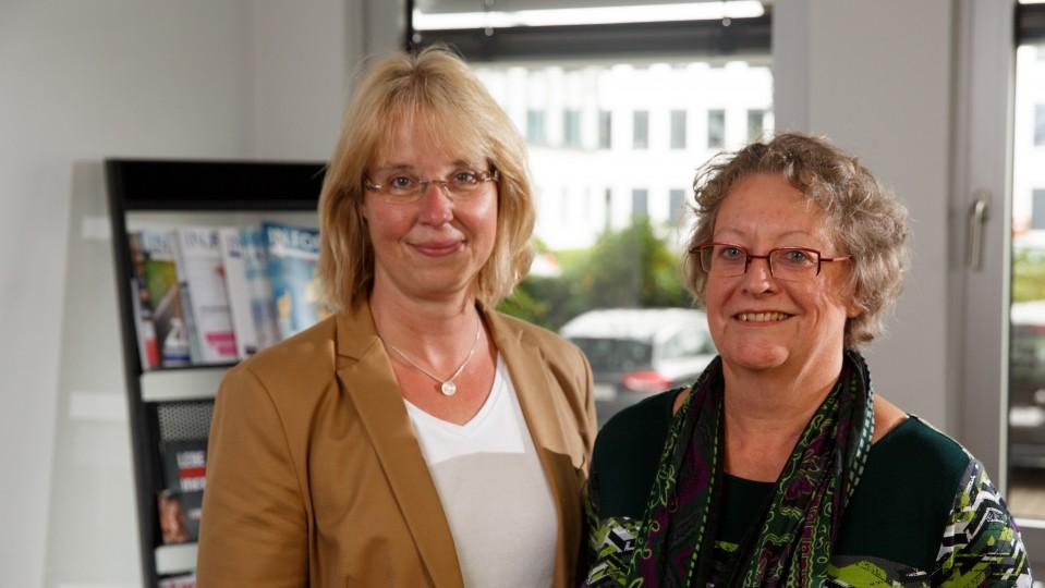 G.I.B.-Beraterinnen Katja Sträde und Karin Linde im Porträt