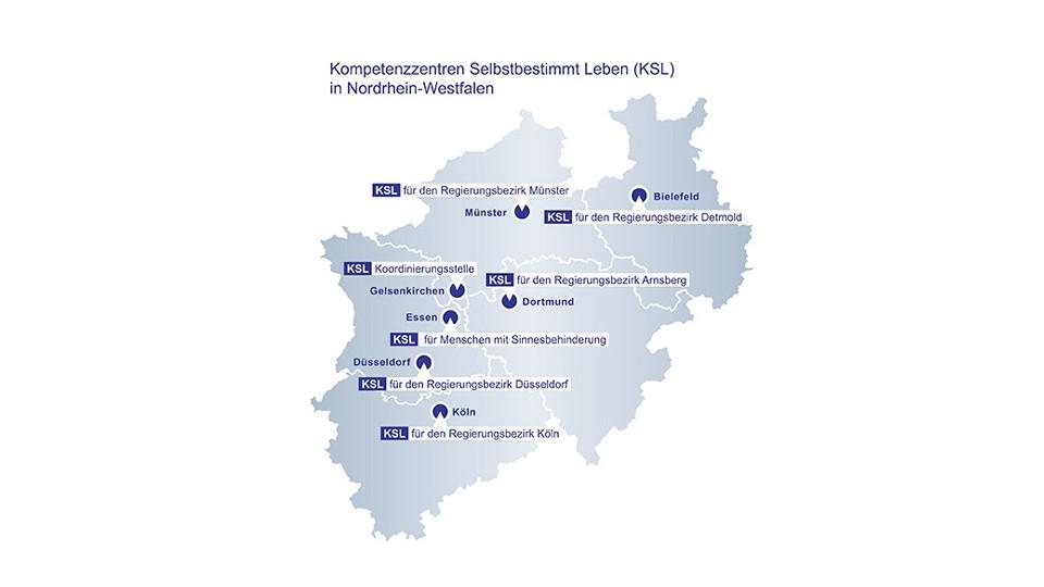 KSL NRW-Karte