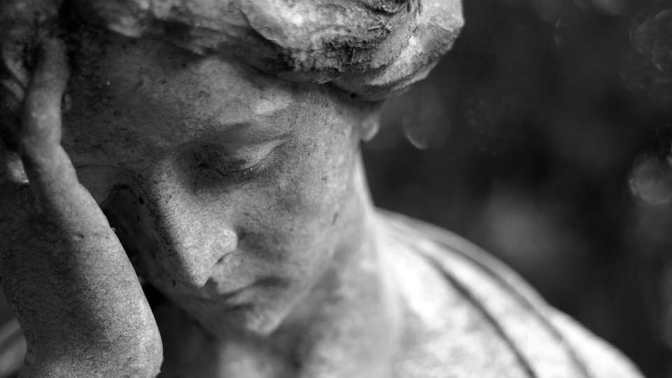 Foto: Skulptur einer Frau