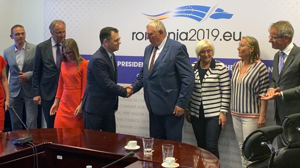 Minister Laumann Rumänienreise