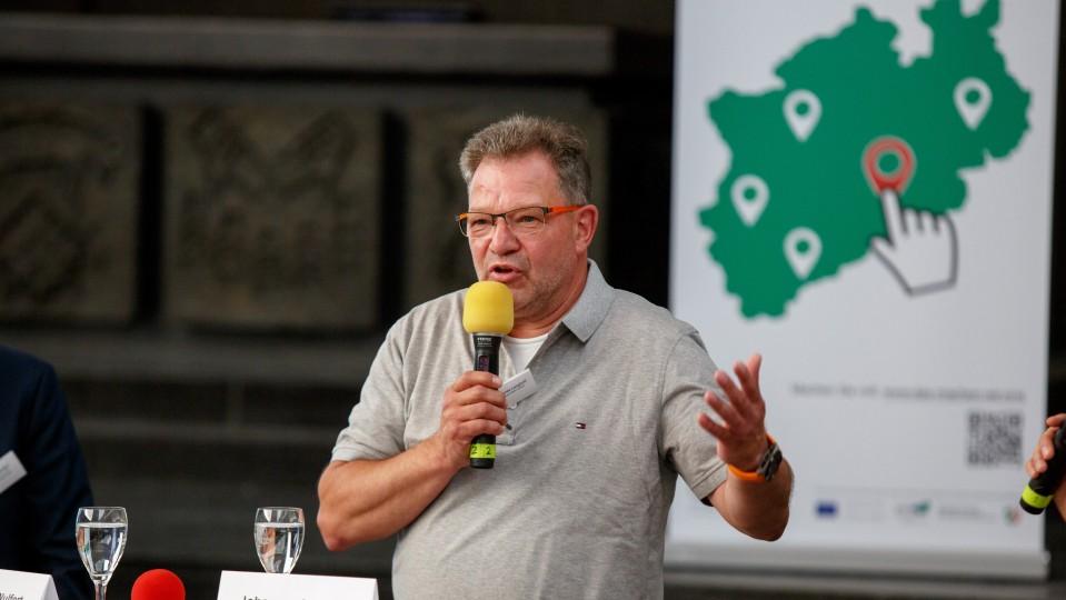 Foto: Johannes Langhoff, Betriebsleiter und Ausbilder bei Brauhaus Urfels