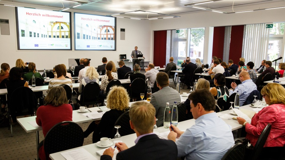 3. Fachaustausch zur Potentialbratung - Blick in den Veranstaltungssaal