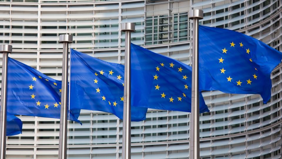 4 Europafahnen