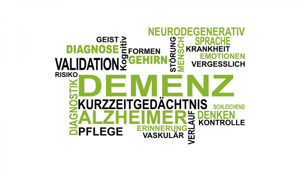 Wortwolke Demenz